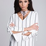 Ramínka Julimex Lady Boss Collet Biała