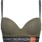 Podprsenka push-up QF5441E-7GV khaki – Calvin Klein