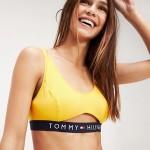 Sportovní podprsenka UW0UW01579-706 žlutá – Tommy Hilfiger