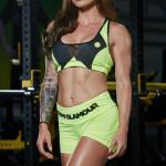 Gym Glamour Podprsenka Green Fluo