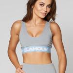 Gym Glamour Podprsenka Grey Basic