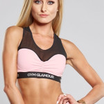 Gym Glamour Podprsenka Pink Mesh