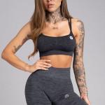 Gym Glamour Podprsenka Seamless Grey Melange