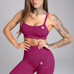 Gym Glamour Podprsenka Seamless Jelly Berry