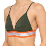 Podprsenka bez kostic QF5669E-FDX khaki – Calvin Klein