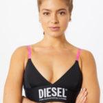 Sportovní podprsenka 00SD64-0KAXF-E5122 černá – Diesel