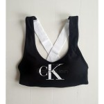 Podprsenka sportovní Bralette Lightly Lined QF1643E-001 černá – Calvin Klein