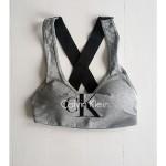 Podprsenka sportovní Bralette Lightly Lined QF1643E-IL7 šedá – Calvin Klein