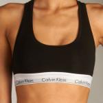 Podprsenka sportovní Bralette Modern Cotton F3785E001 černá – Calvin Klein