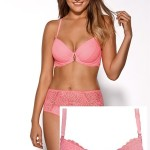 Push-up podprsenka 1639 NEON PINK – AVA