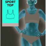 Sportovní podprsenka – Sport Top 60 DEN – GATTA BODYWEAR